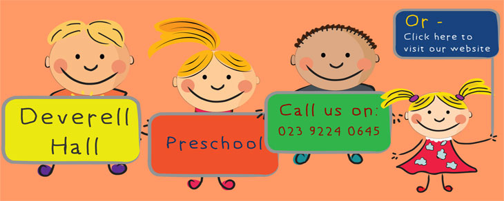 Deverell Hall Preschool Banner