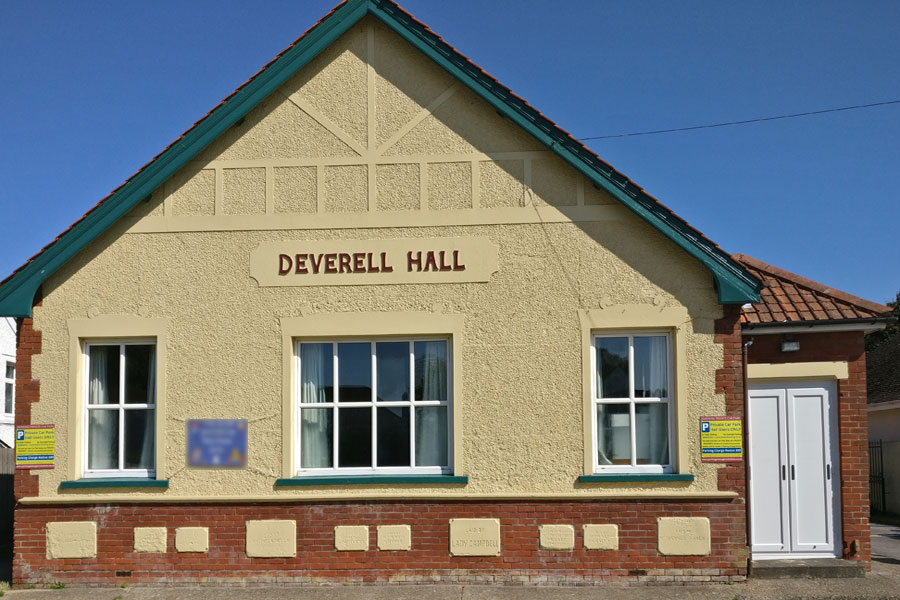 Front of Deverell Hall Outside