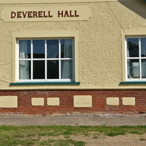 Front of Deverell Hall